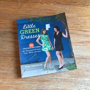 Little Green Dresses Sewing Pattern Book